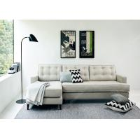 White High End Modern Leather Sofa , Luxury Customized
