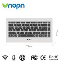 Buy cheap Vnopn cheapest all in one Keyboard PC intel atom z3735f onboard 2g ram 64g ssd wifi for office from wholesalers