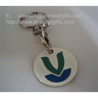 Buy cheap Shopping cart trolley coin key chain, zinc alloy supermarket trolley coins, China factory, from wholesalers
