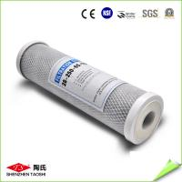 Buy cheap 10'' CTO Activated Carbon Filter Cartridge 45 Degree Water Temperature from wholesalers