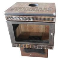 Buy cheap Iron Steel Casting Coal Wood Solid Fuel Modern Log Burning Stoves from wholesalers