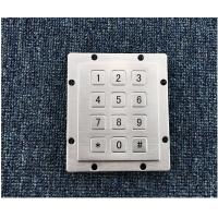 Buy cheap 3x4 stainless steel keypad numeric keypad from wholesalers
