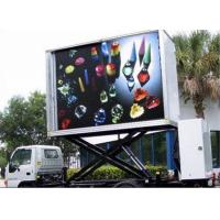 Buy cheap 3 Sides Electronic Full Color Outdoor Message Boards , DIP346 LED Sdvertising Truck from wholesalers