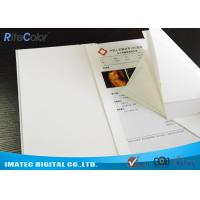 Buy cheap White Medical Imaging Film , Opaque Inkjet Medical PET X - ray Film from wholesalers
