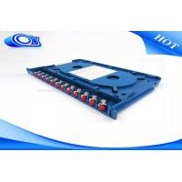 Buy cheap 300 * 180 * 25mm Optical Fiber Patch Panel Rack Mount ODF For Indoor / Outdoor from wholesalers