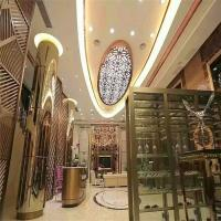 Buy cheap home furniture stainless steel metal screen partition wall for interior decorative from wholesalers