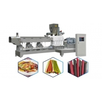 Buy cheap What are the advantages of Corn Starch Straw Making Machine? from wholesalers