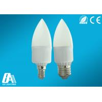 Buy cheap Warm White 3 Watt Led Candle Lamps E27 100 Lumen CCT 2800K - 3000K from wholesalers