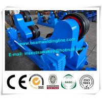 Buy cheap Blue Conventional Welding Rotator , Self Aligned Welding Turning Rolls from wholesalers