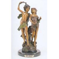 Buy cheap Western Style Art Deco Bronze Indian Chief Figure Sculpture from wholesalers