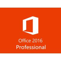 Buy cheap Microsoft Office 2016 Professional 100% New Retail FPP Key code ,100% Online activation from wholesalers