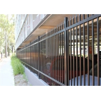 Buy cheap CE Waterproof Steel Garden Fencing Panels , 2.4m Wide High Security Fence from wholesalers