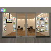 Buy cheap Hanging A4 Crystal LED Light Box Poster Frame Travel Agency Window Displays from wholesalers