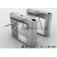Buy cheap Semi Automatic Access Control Tripod Turnstile Gate Stainless Steel For Public Areas from wholesalers