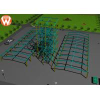Buy cheap Light Steel Prefab Auxiliary Equipment Steel Warehouse For Animal Feed Plant from wholesalers