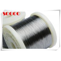 Buy cheap Ni60Cr15 Ni35Cr2080 20 Nickel Chrome Wire , Ni30Cr20 Nichrome Wire Battery Heating from wholesalers