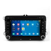 Buy cheap 2DIN android car dvd android 4.4.4 HD 1024*600 for vw with 4 Core CPU, Mirror link from wholesalers
