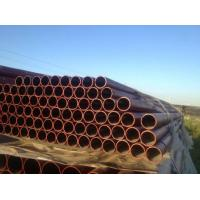 Buy cheap W Type EN 598 Ductile Black Iron Pipe C151 / A21 , Large Diameter Ductile Steel Pipe from wholesalers