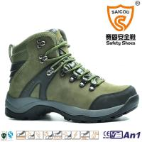 Buy cheap High ankle nubuck waterproof climbing tactical hiking boot China supplier from wholesalers