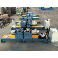 Buy cheap PU Wheel Automatic Tank Turning Rolls With Control Cabinet 10 Ton from wholesalers