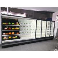 Buy cheap 12FT Long Open Front Refrigerated Merchandiser With Transparent Glass Ends from wholesalers