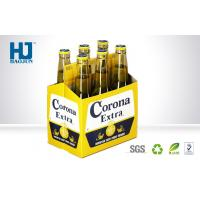 Buy cheap 6 Bottles Cardboard Beer Box Corrugated Paper Material Carton Pop Up from wholesalers