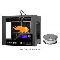 Buy cheap Educational Desktop 3D Printer , ABS Filament 1.75mm 3D Printer Machine from wholesalers