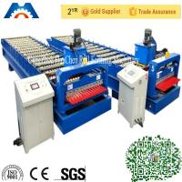 Buy cheap Corrugated Iron Cold Roll Forming Machine 2-10m/Min PPGi GI from wholesalers