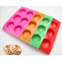 Buy cheap Colorful Silicone Kitchenware Products , Biscuit Cake Flower Silicone Mold from wholesalers