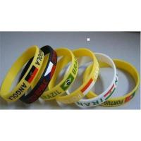 Buy cheap Promotional silicone wristband from wholesalers