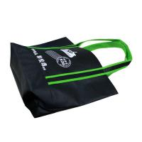 Buy cheap Black Promotional Fabric Carrier Bags For Shopping Eco Friendly from wholesalers