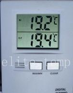 Buy cheap ELITE-TEMP Thermo-Hygrometer TH-3 With Probe from wholesalers