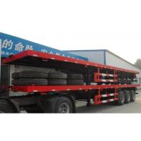 Buy cheap Heavy Duty 35 Ton / 60 Ton Trailer , Hydraulic Modular Low Bed Semi Trailer from wholesalers