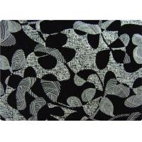 Buy cheap Black Printed Flocked Fabric / Cloth For Home Textile Sofa Pillow from wholesalers