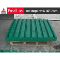Buy cheap high manganese wear-resistant jaw plate from wholesalers