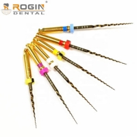 Buy cheap Gold Niti Rotary Files Dental Endo Files with Heat Activation High Flexibility for Engine Use from wholesalers