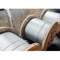 Buy cheap GALVANIZED STEEL WIRE AS MESSENGER WIRE AS PER ASTM A 475 CLASS A EHS from wholesalers