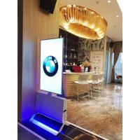 Buy cheap Double Sided Floor Standing Digital Signage LG Panel 43'' 55'' Ultra Slim Design product