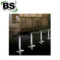 Buy cheap Round Shaft Helical Piles are use  to Solar Farms Foundation from wholesalers