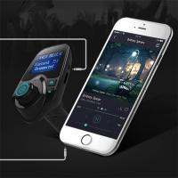 Buy cheap Hotsale Bluetooth FM Transmitter 5V 2.1A Wireless In-Car FM Transmitter Radio Adapter Car Kit  Car MP3 from wholesalers