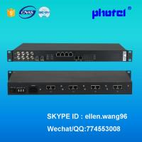 Buy cheap 30 channel FXS FXO POTS voice over E1 PCM Multiplexer, fiber optical pdh mux from wholesalers