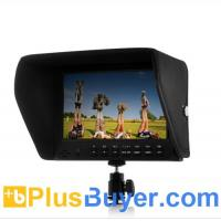 Buy cheap 7 Inch On-Camera 1080P Monitor for DSLR (Built-in Speaker, HDMI Out) from wholesalers