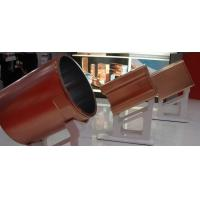 Buy cheap Round Blank Copper Mould Tube For CCM , Single Tapered Copper Mould Plate Optional Size from wholesalers