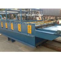 Buy cheap SGS Roof Tile Roll Forming Machine Color Steel Glazed , double layer roll forming machine from wholesalers