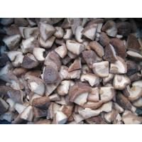 Buy cheap IQF Frozen Shiitake Mushroom Quarter(1/4) from wholesalers