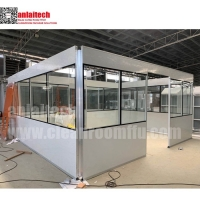 Buy cheap clean room partition panels for pharmaceutical modular cleanrooms from wholesalers