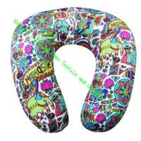 Buy cheap U Shape Microbead Neck Pillows For Car, Comfort Foam Travel Neck Pillow Cushion from wholesalers
