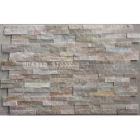 Buy cheap Unique Interior Cultured Stone Siding Panels Tile Stone Form Hard Surface from wholesalers