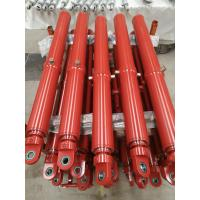 Buy cheap Round Line Piston Rod Custom Hydraulic Cylinders Medium Duty 3000PSI Working from wholesalers