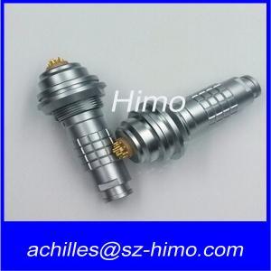 Replaceble with lemo FGG waterproof circular push pull 10 pin plug connectors